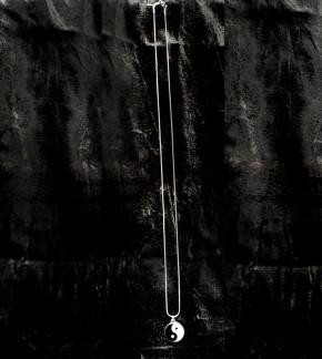Stahlanhänger Yin-Yang