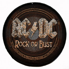 Patch AC/DC Rock or Bust