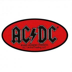 Patch AC/DC Oval Logo