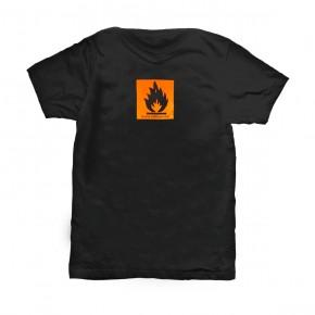 T-Shirt Leicht entflammbar L