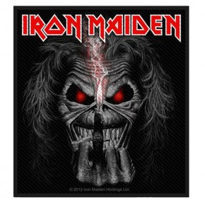 Patch Iron Maiden  Eddie Candle Finger