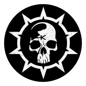 Krankheit Button Logo