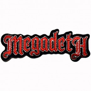 Patch Megadeth Logo