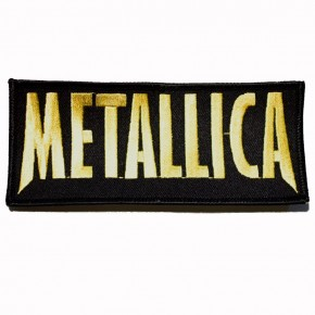 Patch Metallica gold