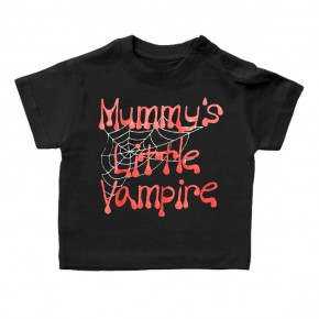 Kids-T-Shirt Mommy´s little Vampire