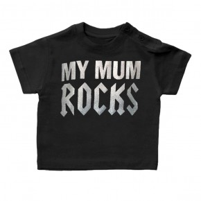 Kids-T-Shirt My Mum Rocks