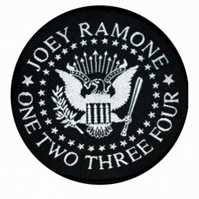 Patch Joey Ramone one two three four