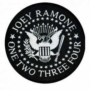 Patch Joey Ramone one two three four